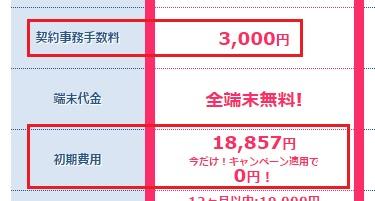 WiMAXマスターBroadブロードWiMAX初期費用事務手数料3000円